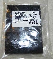 Kohler Air Filter Part No 63 083 12-S