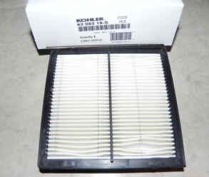 Kohler Air Filter Part No 63 083 19-S