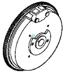 Kohler Flywheel - Part No. 12 025 32-S