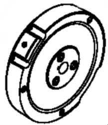 Kohler Flywheel - Part No. 17 025 03-S - CH395 Recoil
