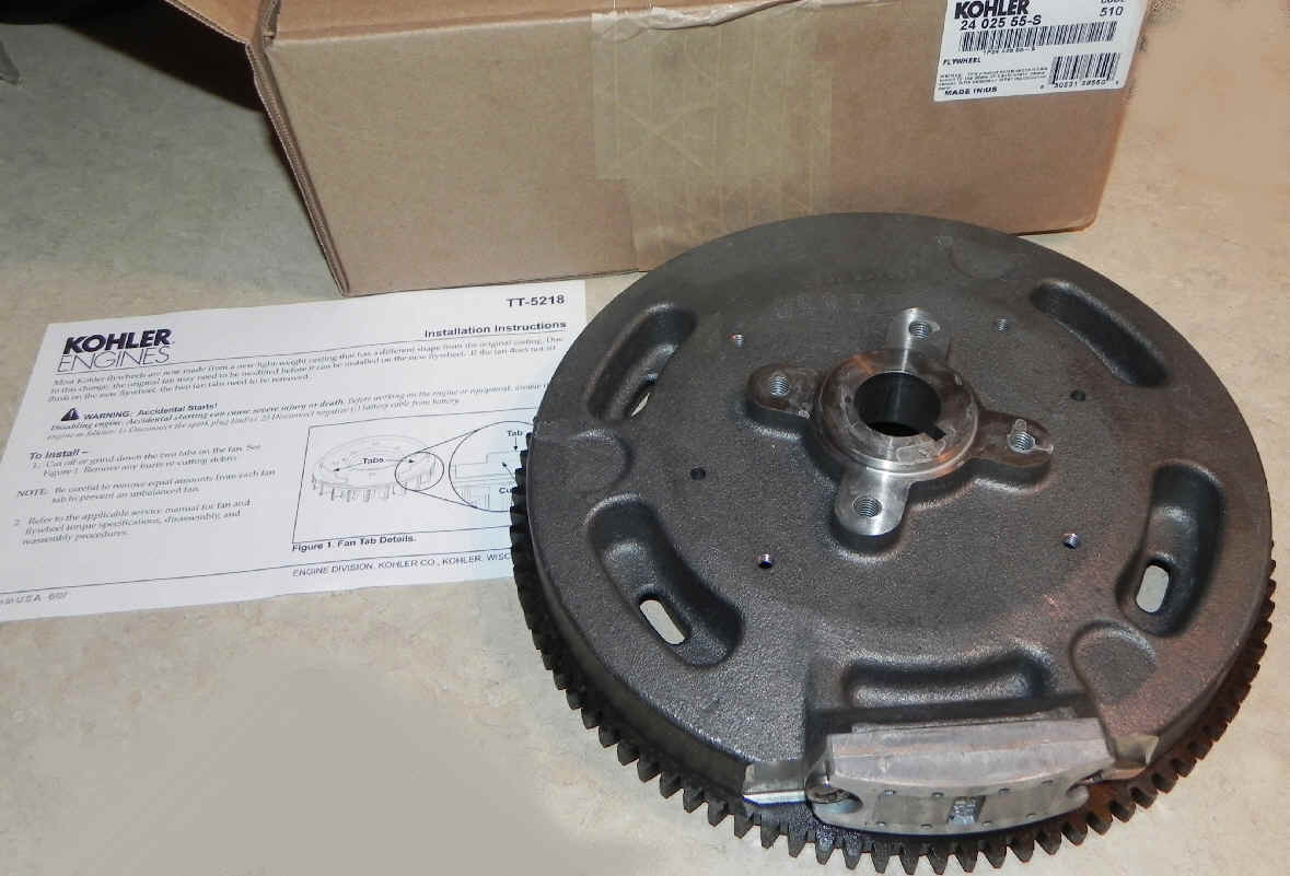 Kohler Flywheel - Part No. 24 025 55-S