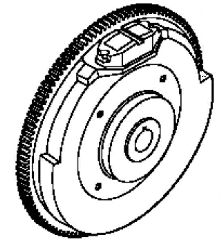 Kohler Flywheel - Part No. 24 025 58-S