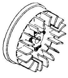 Kohler Flywheel - Part No. 41 025 11-S
