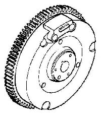Kohler Flywheel - Part No. 41 025 46-S