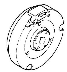Kohler Flywheel - Part No. 41 025 47-S