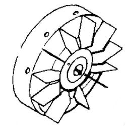 Kohler Flywheel - Part No. 46 025 01-S