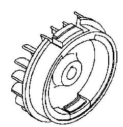 Kohler Flywheel - Part No. 63 025 04-S