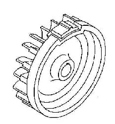 Kohler Flywheel - Part No. 63 025 08-S