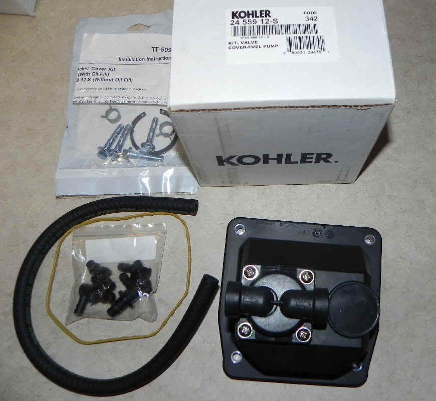 kohler fuel pump   part no 24 559 12 s