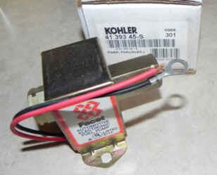 Kohler Fuel Pump - Part No. 41 393 45-S