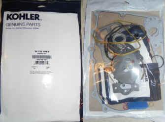 Kohler Gasket Set - Part No. 24 755 108-S