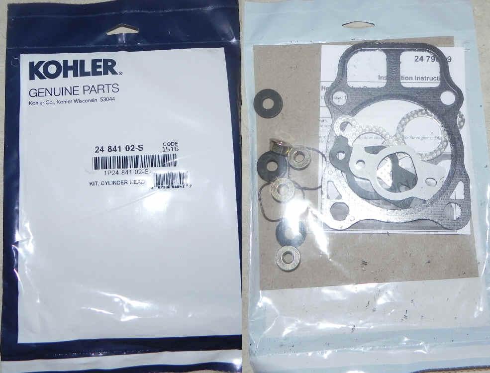Kohler Head Gasket 24 841 02-S