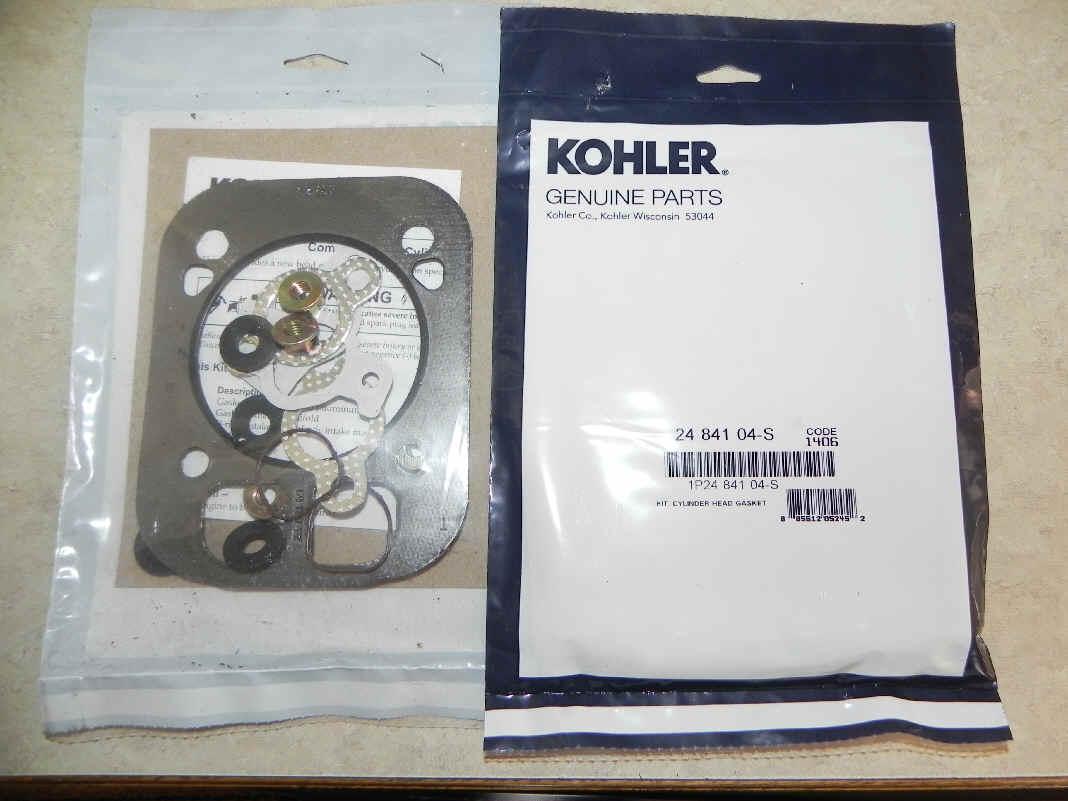 Kohler Cylinder Head Gasket Part No 24 841 04-S