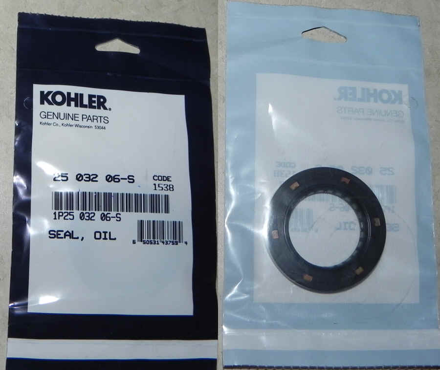 Kohler Oil Seal Part No 25 032 06-S