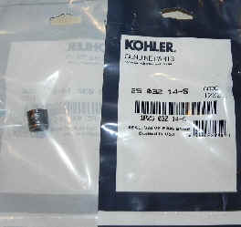 Kohler Valve Stem Seal Part No 25 032 14-S