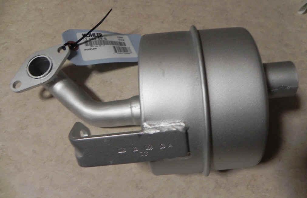 Kohler Muffler Part No 12 068 58 S
