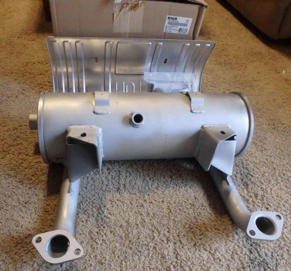 Kohler Mufflersfor Small Engines Ch15 5 Wiring Diagram Muffler Part No 19 786 01 S