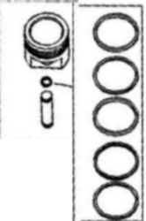 Kohler Piston Assembly - Part No. 24 874 30-S