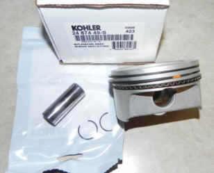 Kohler Piston Assembly - Part No. 24 874 49-S