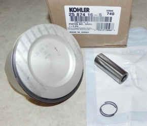 Kohler Piston Assembly - Part No. 25 874 16-S