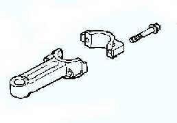 Kohler Connecting Rod - Part No. 12 067 05-S Standard Rod