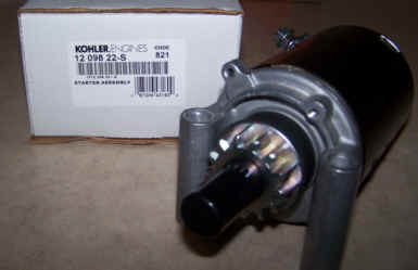 Kohler Electric Starter - Part Number 12 098 22-S