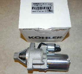 Kohler Electric Starter - Part Number 17 098 11-S