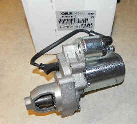 Kohler Electric Starter - Part Number 17 098 12-S