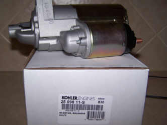 Kohler Electric Starter - Part Number 25 098 11-S