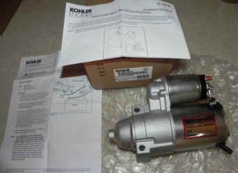 Kohler Electric Starter - Part Number 25 098 20-S