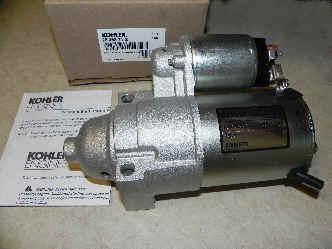 Kohler Electric Starter - Part Number 25 098 21-S