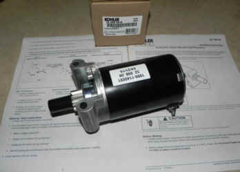 Kohler Electric Starter - Part Number 32 098 08-S