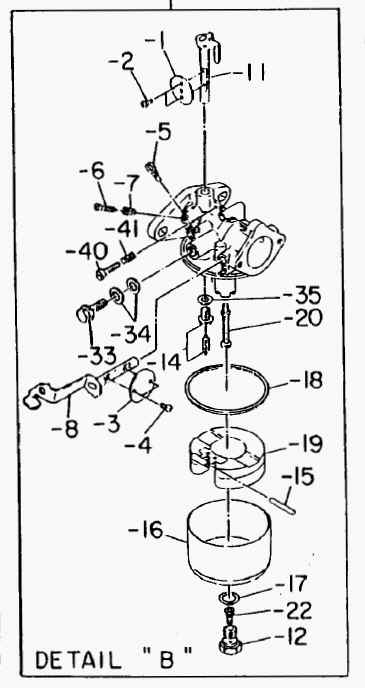 Robin Carburetor Part No. 232-62302-00