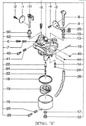 Robin Carburetor Part No. 248-62401-30