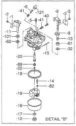 Robin Carburetor Part No. 253-62456-30