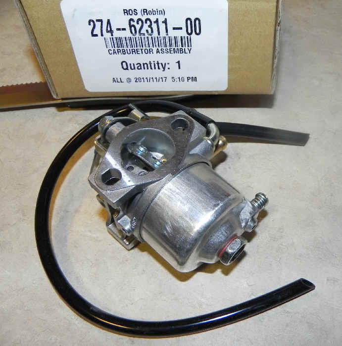Robin Carburetor Part No. 274-62311-00