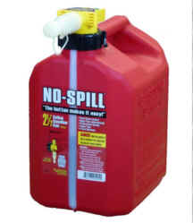 No-Spill 2-1/2 Gallon Gasoline Can 1405