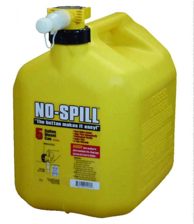 No-Spill 5 Gallon Diesel Can 1457