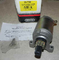 Tecumseh Electric Starter Model 33-739 replaces 37245