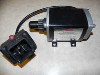 Tecumseh Electric Starter Model 33-738 - subs for 33329E