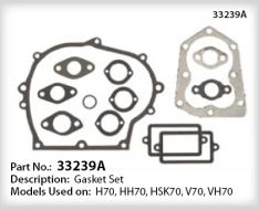 Tecumseh Gasket Set - Part No. 33239A