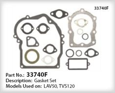 Tecumseh Gasket Set - Part No. 33740F