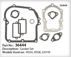 Tecumseh Gasket Set - Part No. 36444