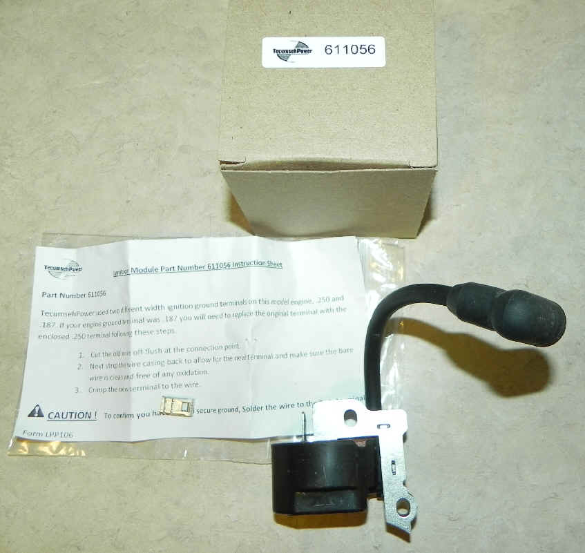 Tecumseh Ignition Coil Part No. 611056