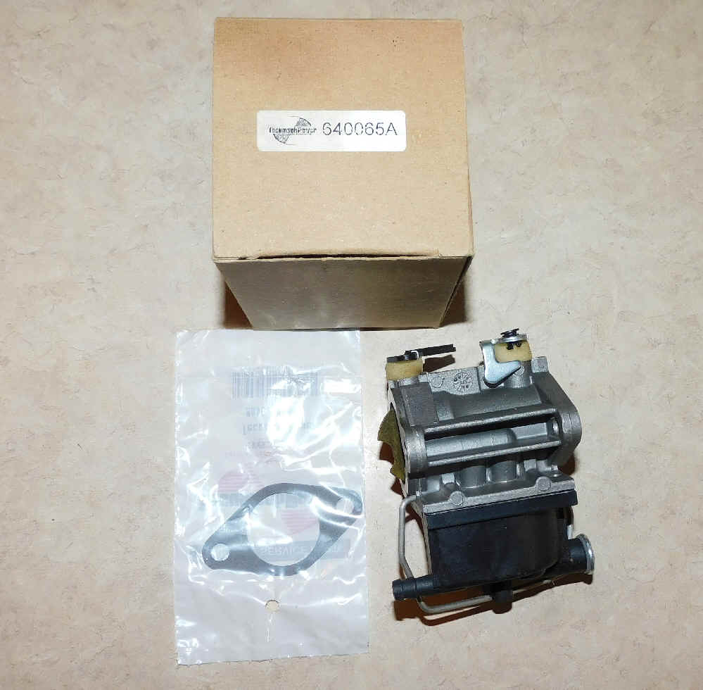 Tecumseh Carburetor Part No.  640065A