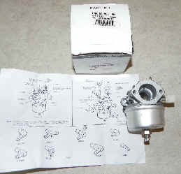 Tecumseh Carburetor Part No.  631955