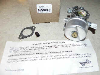 Tecumseh Carburetor Part No.  640302