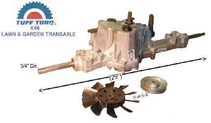 Tuff Torque K46 Transaxle 7A646084460