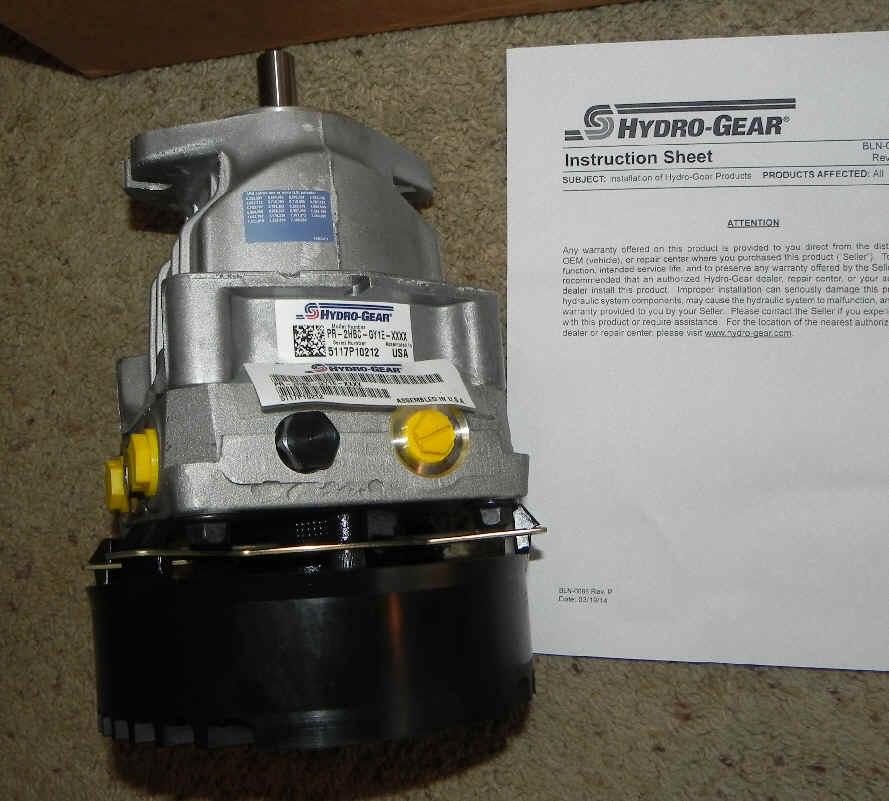 PR-2HBC-GY1E-XXXX-2 Pump