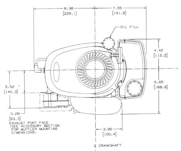 Line drawing for Tecumseh LEV80